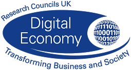 RCUK Digital Economy Logo